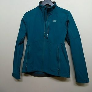 [Outdoor Research] NWOT sporty teal jacket sz S